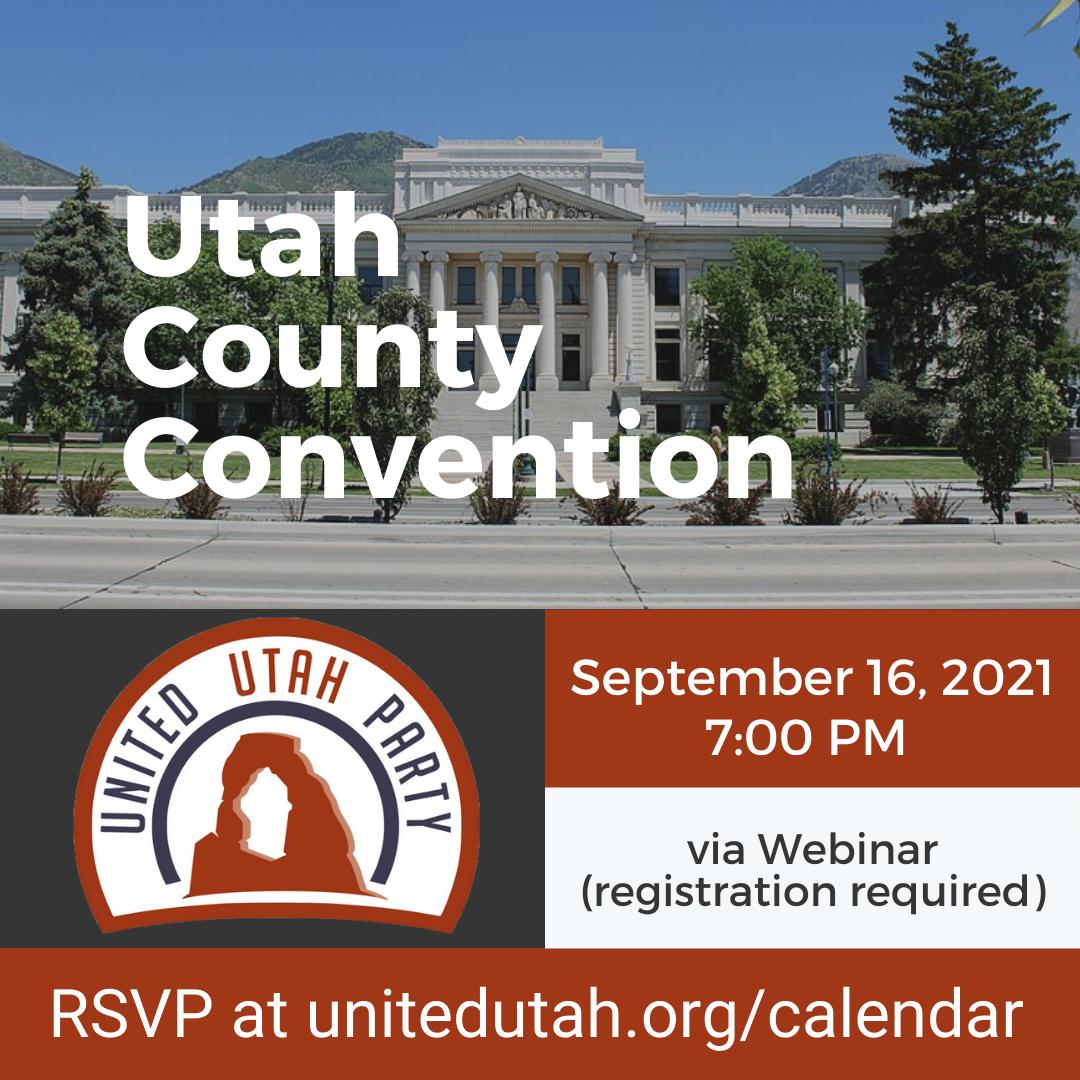Utah County Convention Promo Image