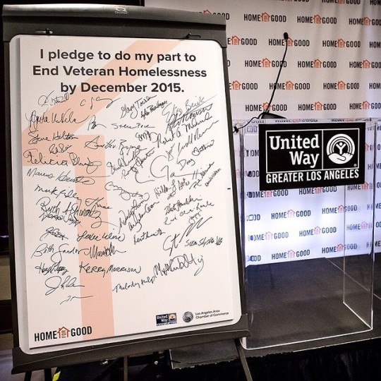 HFG Ending Veteran Homelessness Press Conference