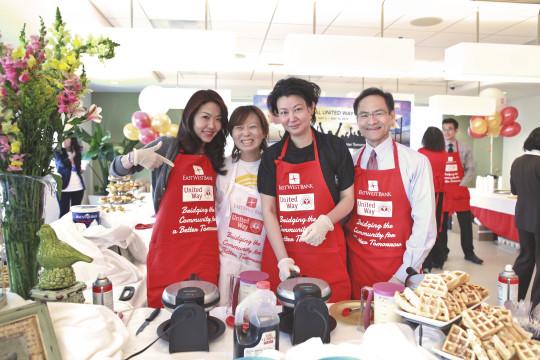 Emily Wang, Sandra Ko, Agnes Lew, Albert Lau