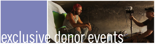 exclusive donor events