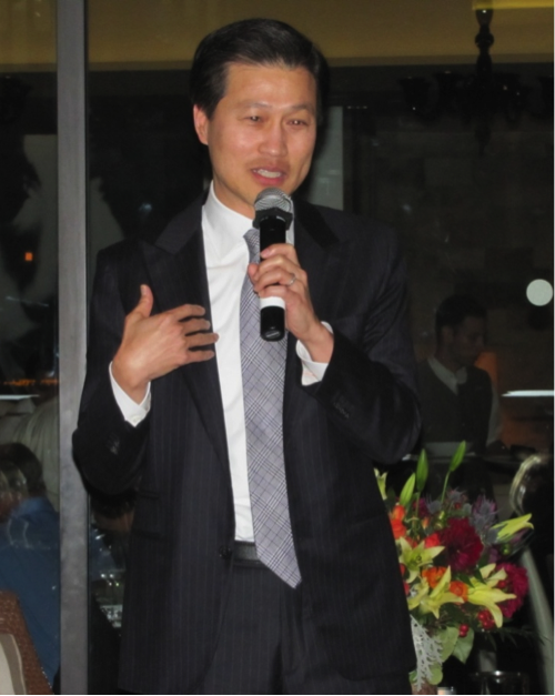 Dominic Ng, Chairman and CEO of East West Bank, was the special guest at the November 12 Tocqueville Talks event.