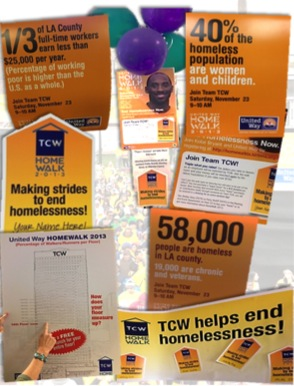 The incredible team at TCW went beyond the call of duty by creating posters, signs, and friendly contests to recruit walkers and fundraising!