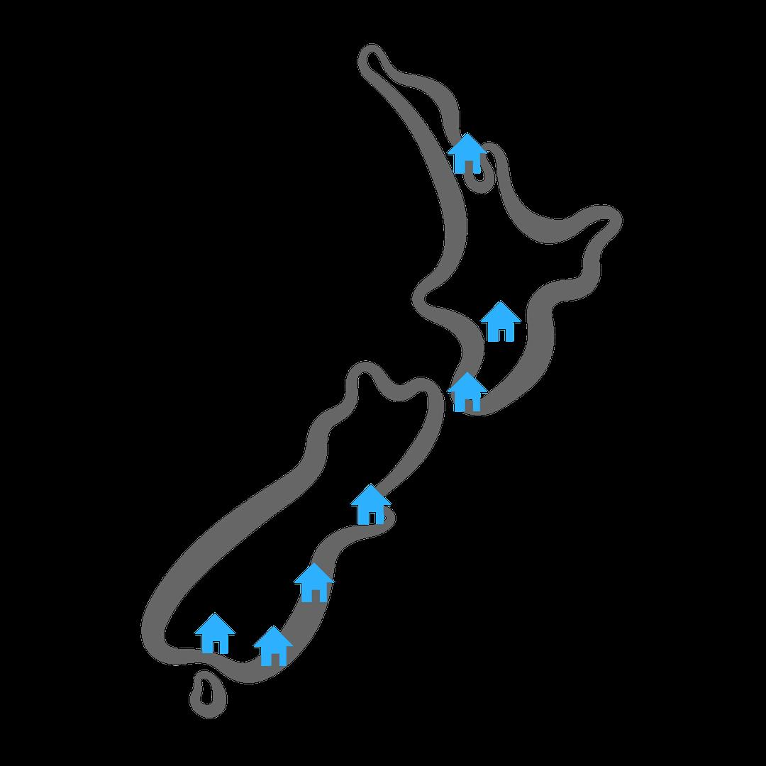 NZ map