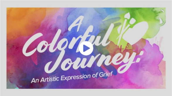 A Colorful Journey - An Artistic Expression of Grief