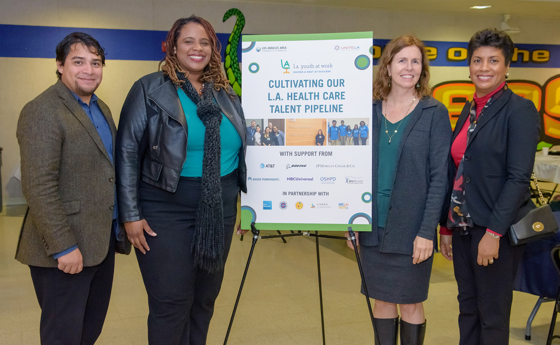 Read our <u>Health Care Talent Pipeline Impact Report</u> to learn about our work with L.A.'s health care employers and educators building pathways to high-demand, living wage careers in the industry for our local, diverse underserved communities