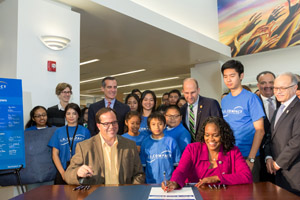 L.A. Compact Signing Event
