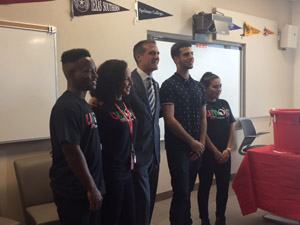 LA College Promise Students at Pierce College