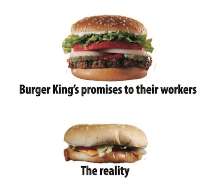 Burger King Workers to strike Friday 15th