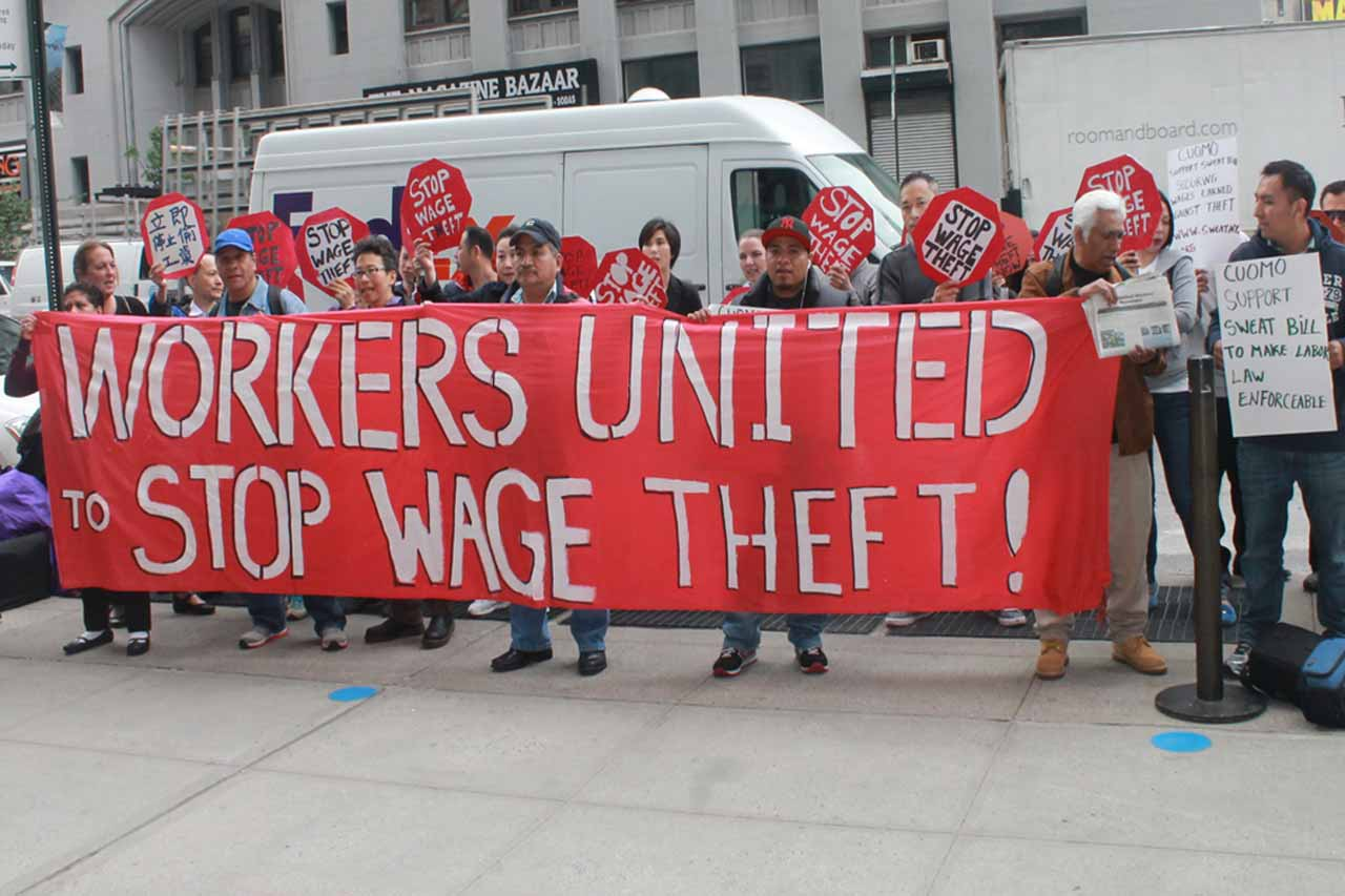 Wage theft is an international problem