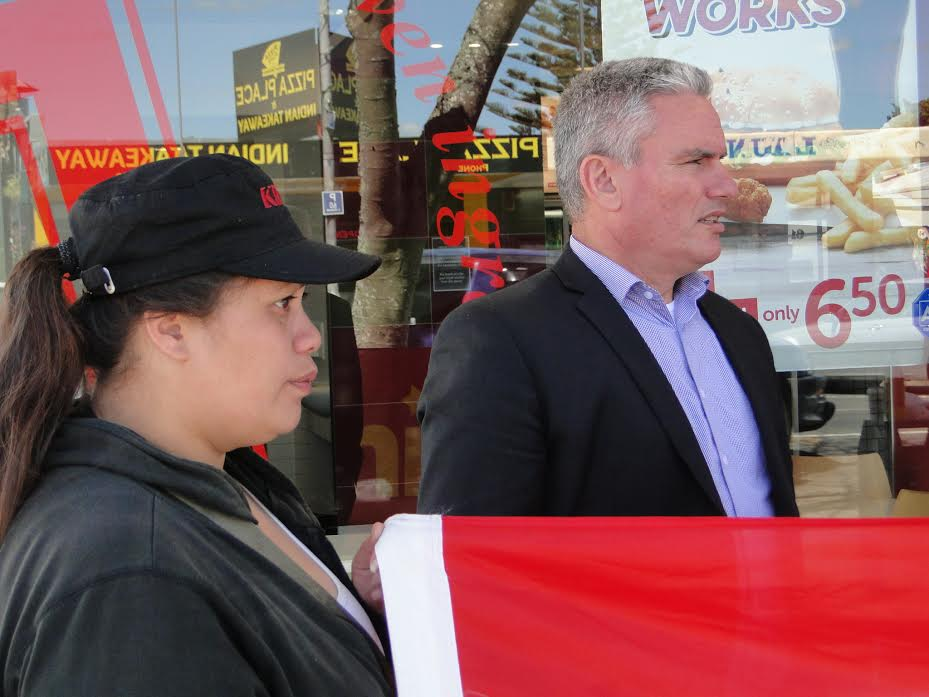 Labour MP Kelvin Davis - No Goodwill from KFC