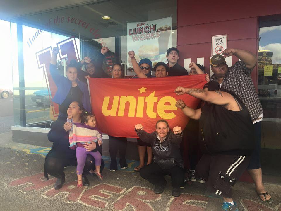 Kaikohe KFC prematurely closed down following 10 days of community support pickets.