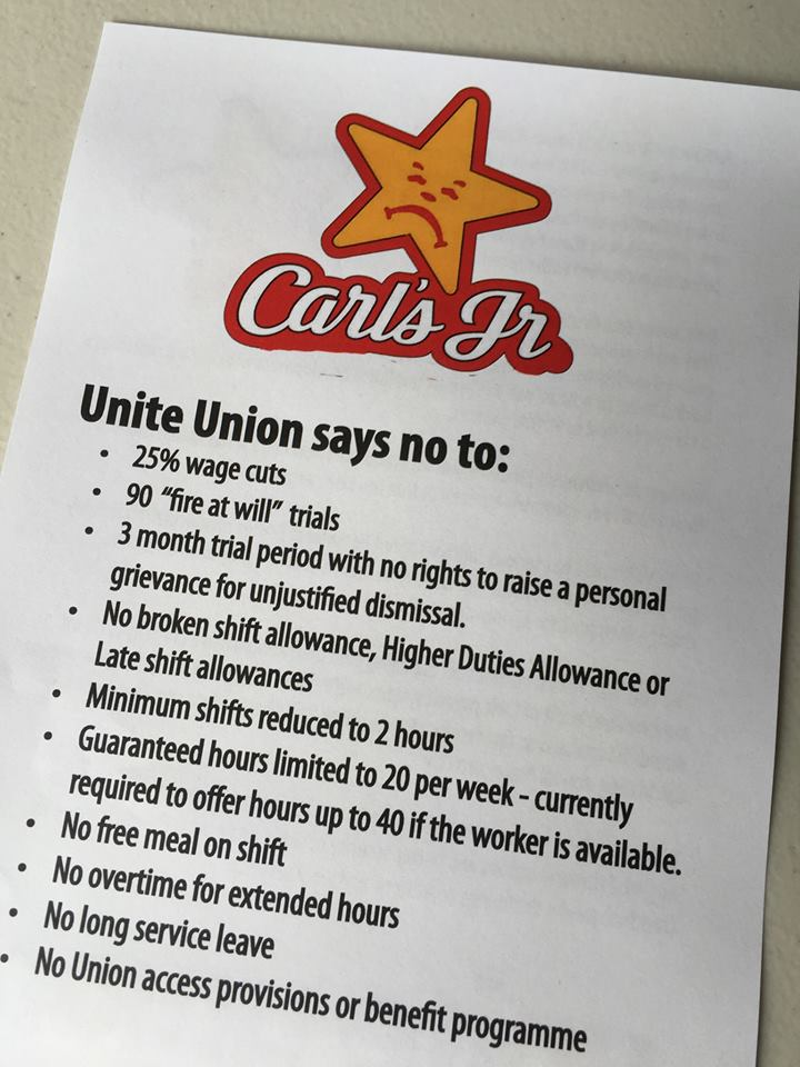 Victory for fast food workers on international day of action