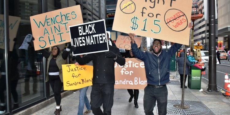 Minimum wage crusaders in US are holding a convention – to talk about racism