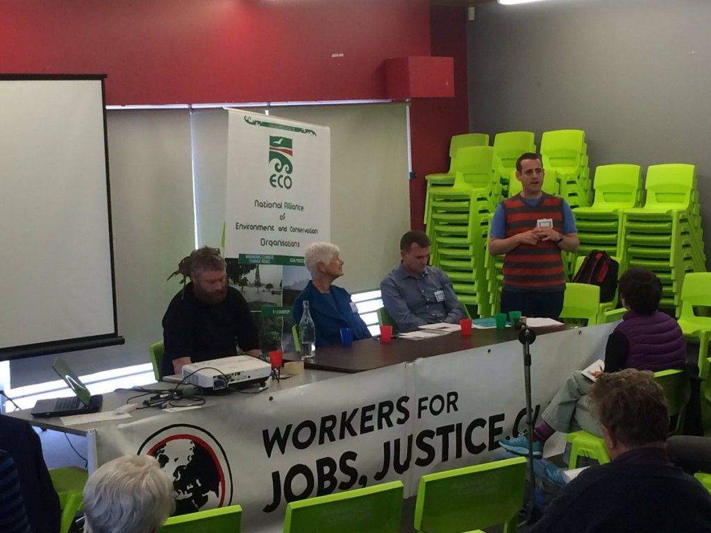 "Unions and environmental groups come together as ""natural allies"""