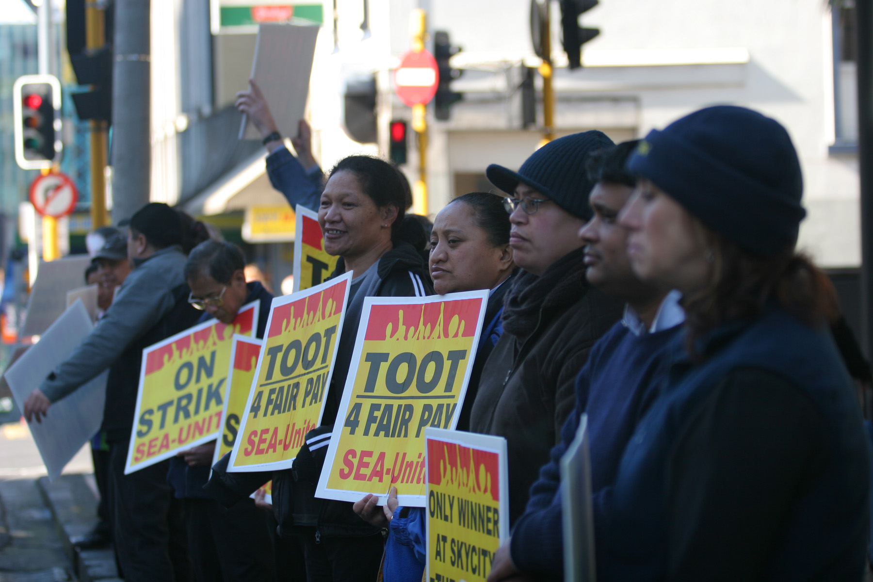 LET US STAY- Extend the amnesty for Migrant Workers in NZ. This Saturday 12 Noon at Unite