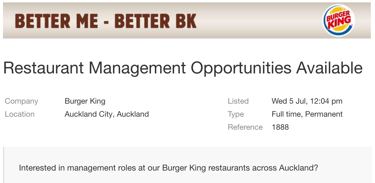 Burger King managers to join crew at contract negotiations