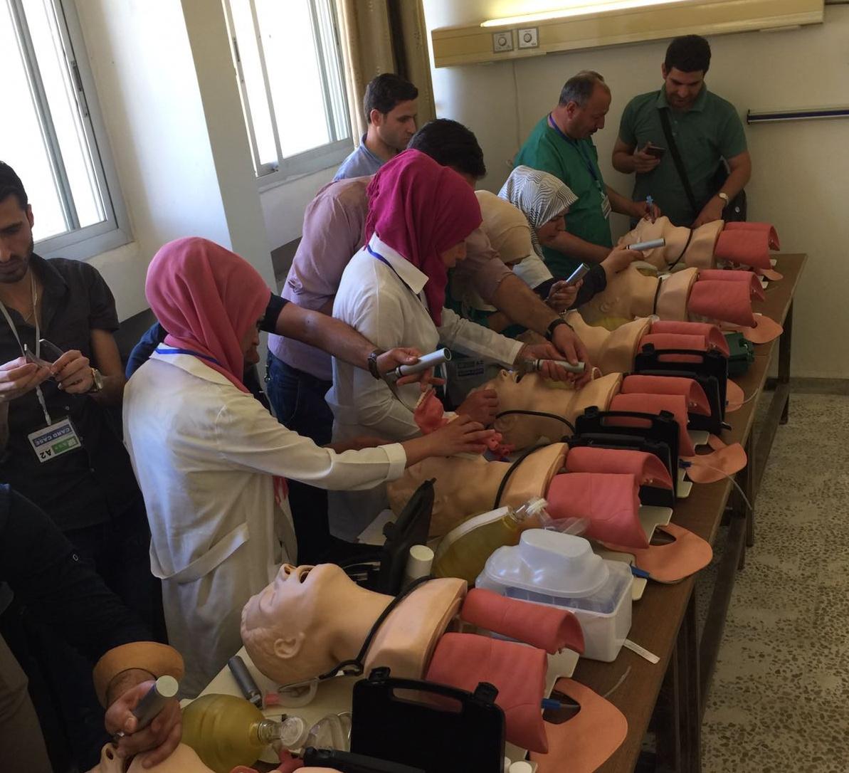 Formation medicale Syrie UOSSM Fr
