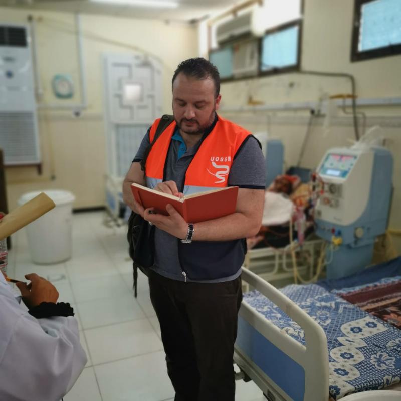 Dr Ahmed Dbeis - visite terrain