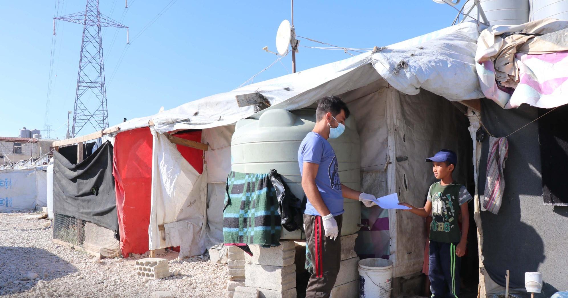 Actions humanitaires dans les camps de réfugiés Liban - Partenaire Maps