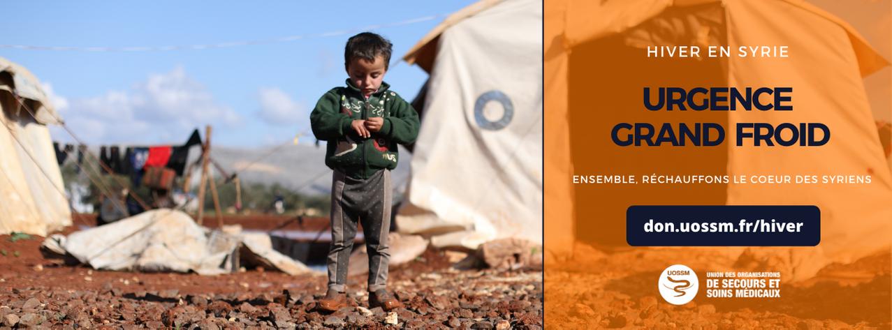 Urgence grand froid Syrie faites un don UOSSM