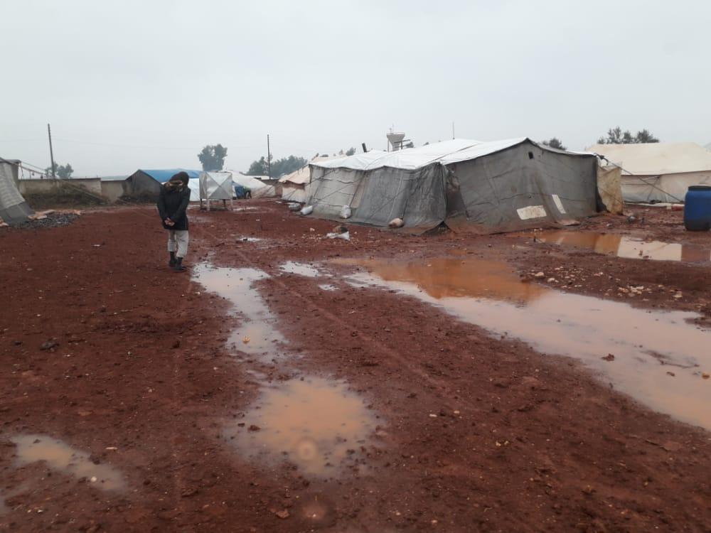 Camp Atme Syrie Décembre 2020