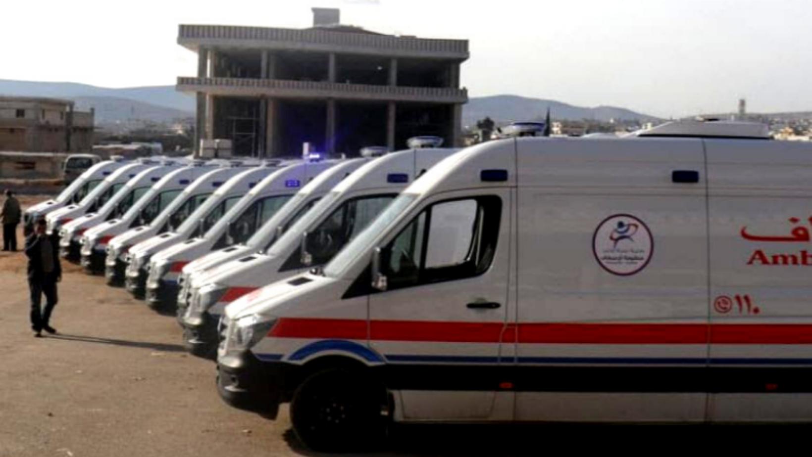 Nouvelles ambulances en février 2020