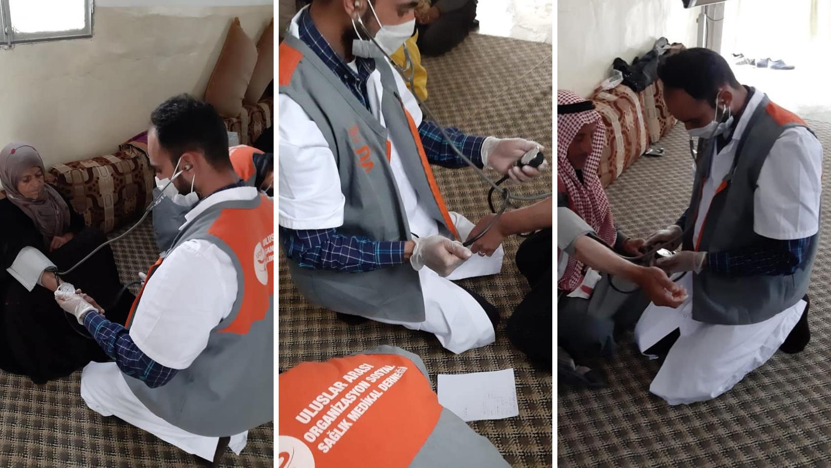 Consultations des équipes UOSSM à Tal Abyad