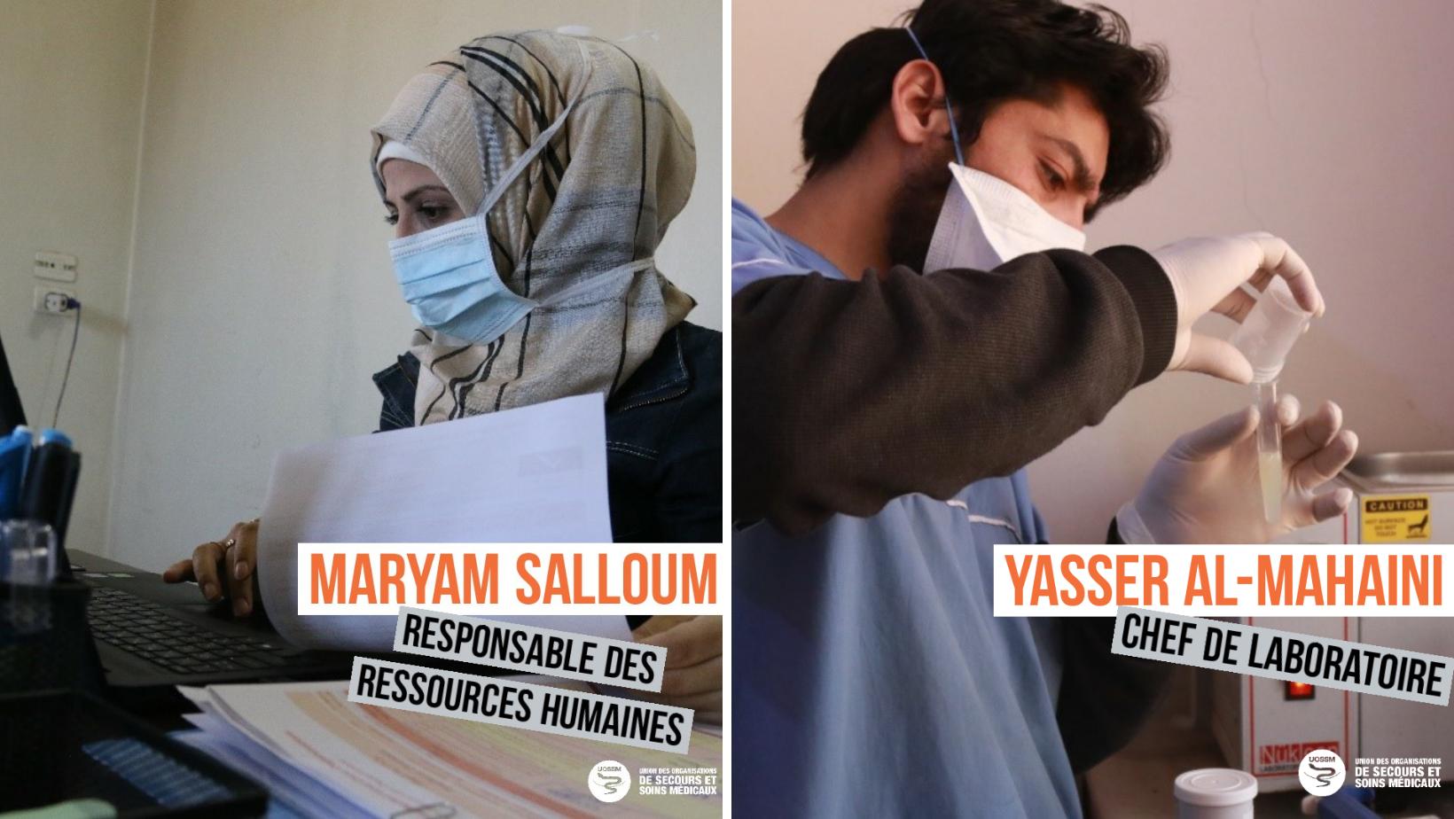Nos héros en Syrie : salariés UOSSM