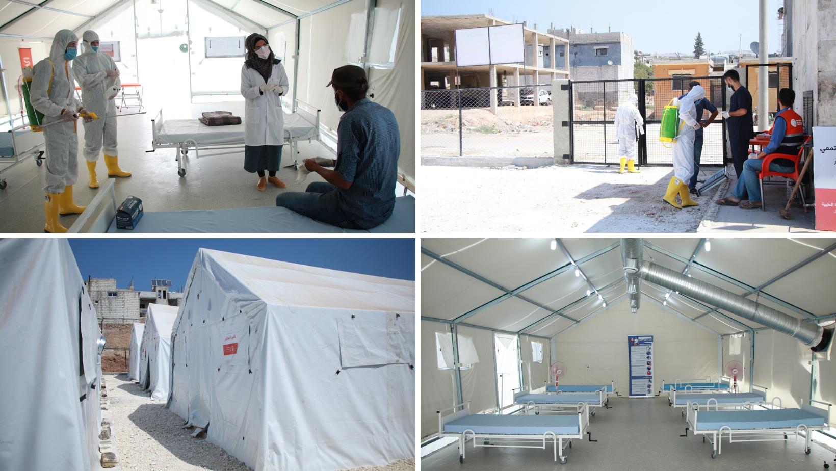 Nouveaux centres d'isolement contre la COVID