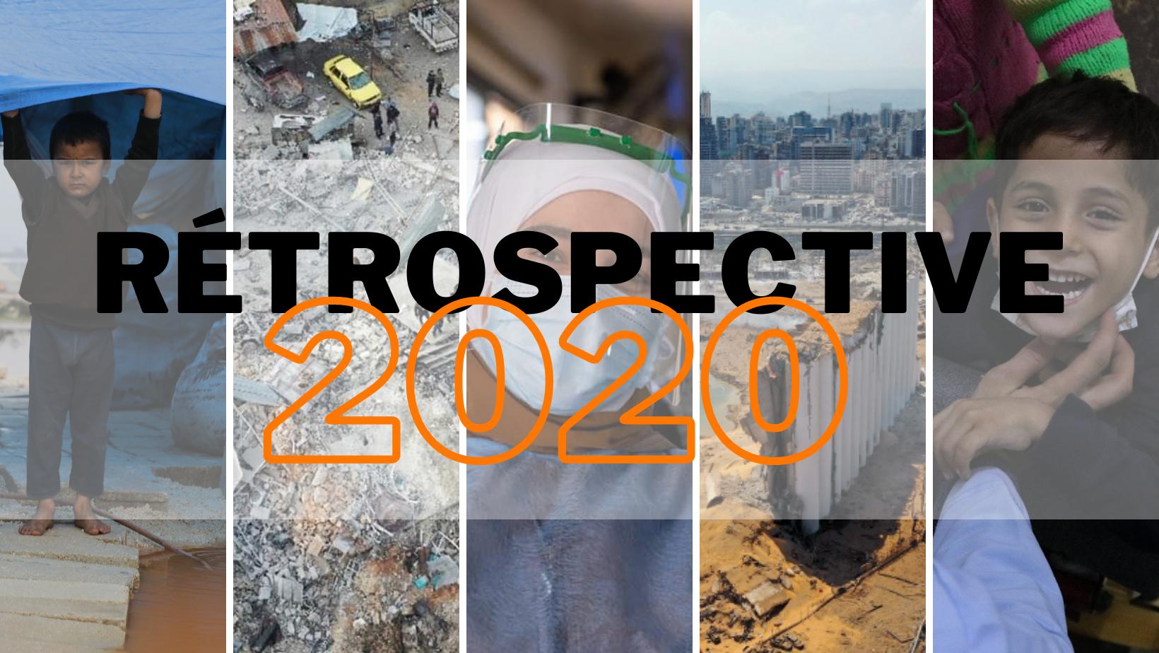 Rétrospective 2020 en images