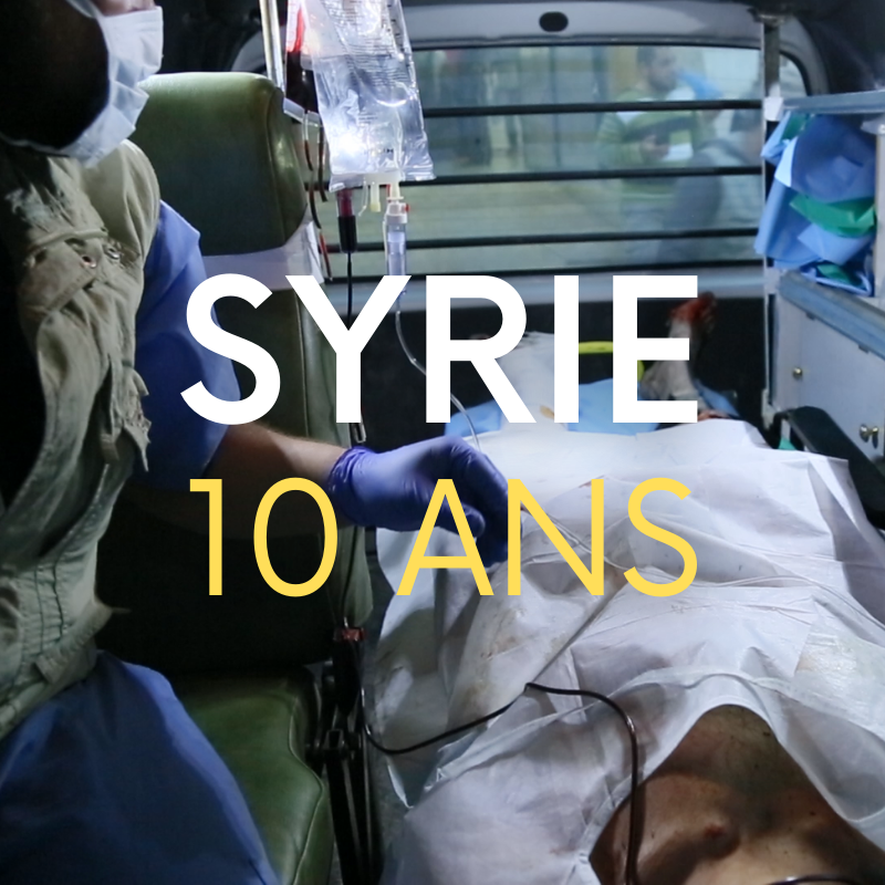 SYRIE 10 ANS