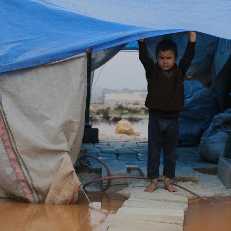 Camps réfugié syrien
