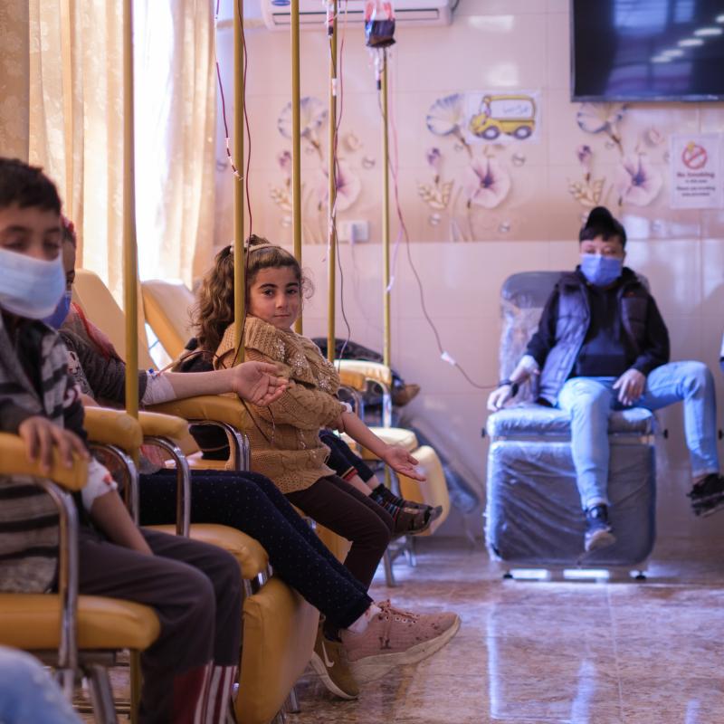 Thalassémie en Syrie