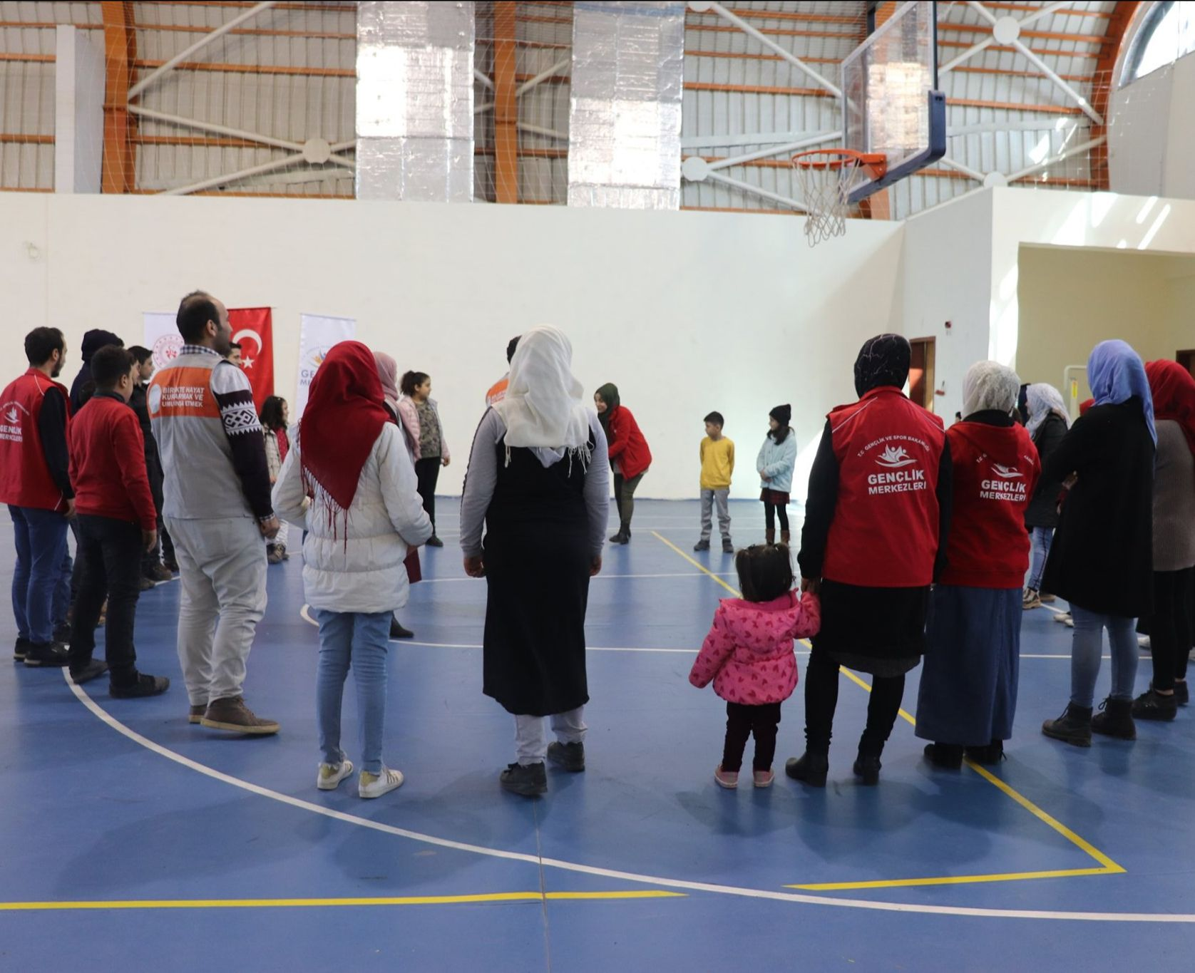 Mental Health Services provide social activities for child integration for Syrians in Turkey