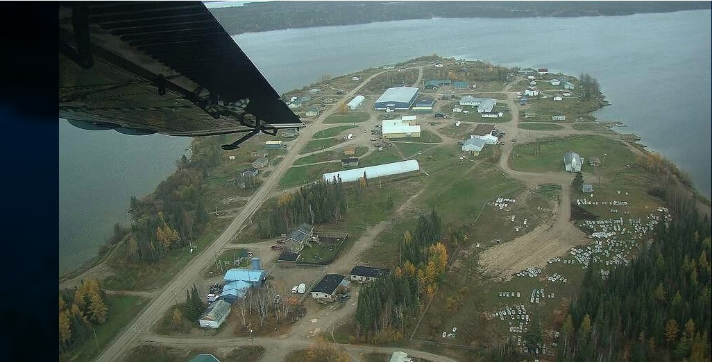 Kitchenuymaykoosib Inninuwug First Nation is located about 600 kilometres north of Thunder Bay. Image courtesy K.I. First Nation/Flickr