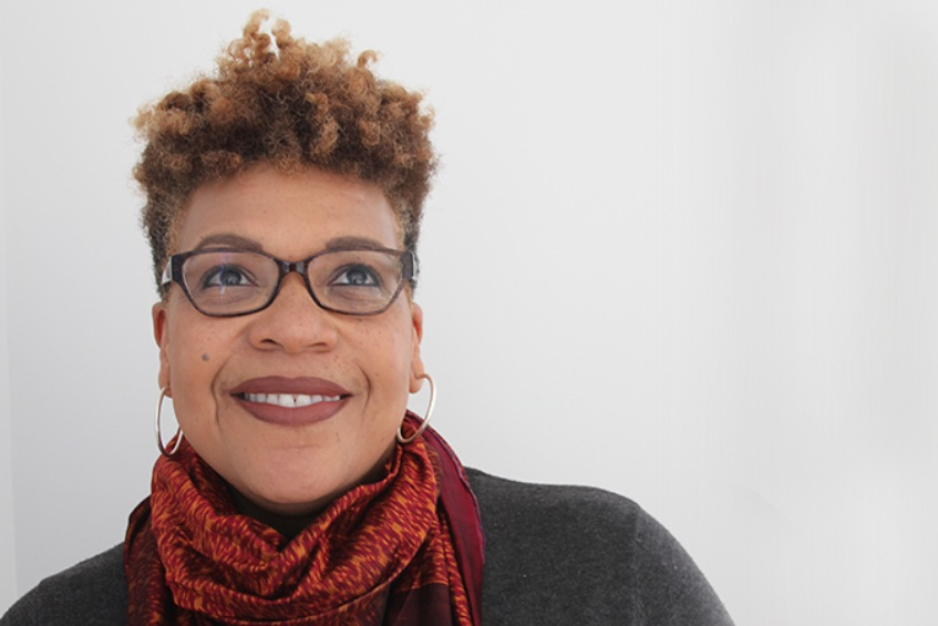 anya Sharpe, an associate professor at the U of T's Factor-Inwentash Faculty of Social Work, is launching a series on Instagram Live that explores the disproportionate impact of COVID-19 on vulnerable populations (photo courtesy of Natasha Lan)