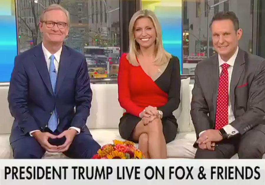 Fox News Host Asks Trump For Best Birthday Gift Her Dad Ever His Response Is Priceless