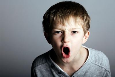 angry child - photo #27