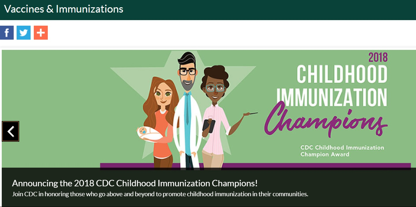 Vaccines -CDC - Uplift Families