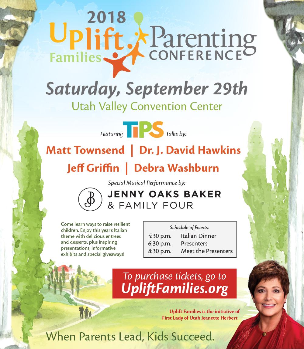 2018 Uplift Conference Flyer