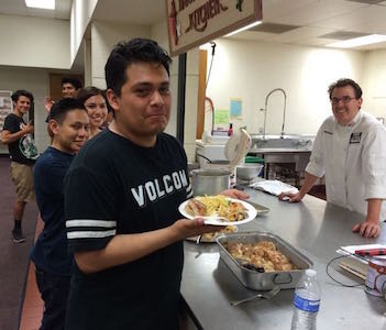 Cooking with Chef Blake - Los Angeles United Methodist Urban Foundation