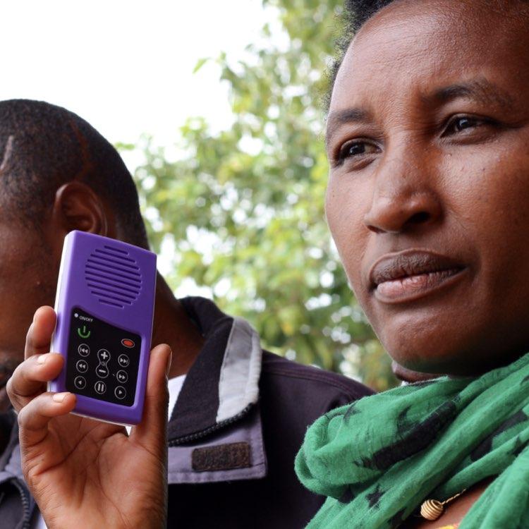 Audiopedia in Rwanda