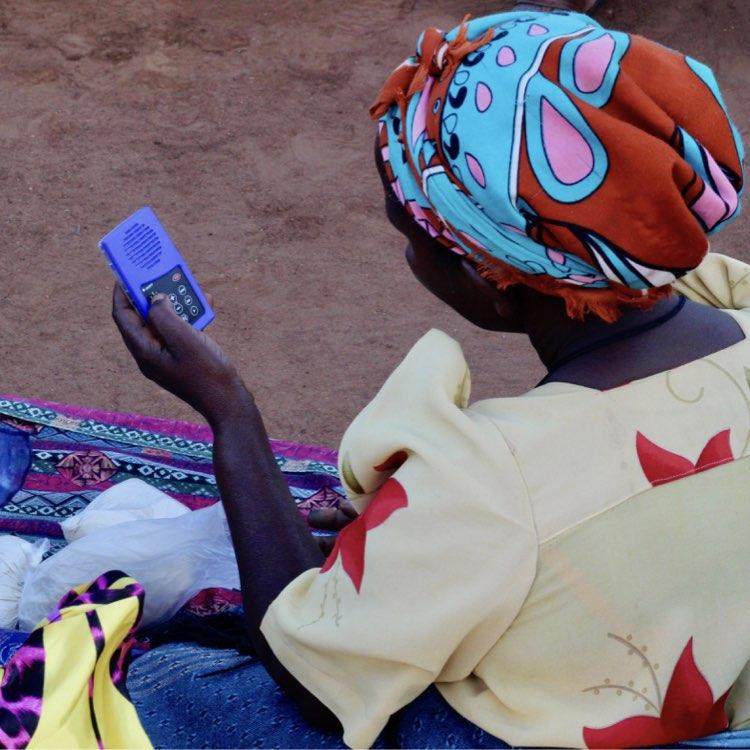 Audiopedia in the Democratic Republic of the Congo
