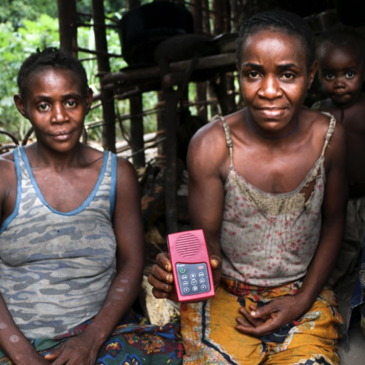 health promotion for remote indigenous populations in Central Africa