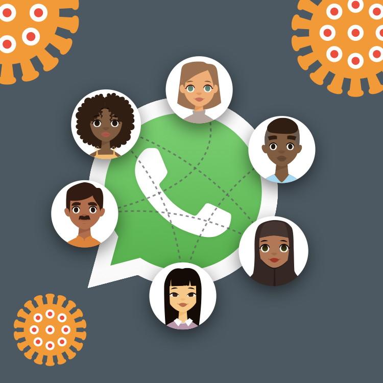 Help us create a global WhatsApp audio campaign to fight corona