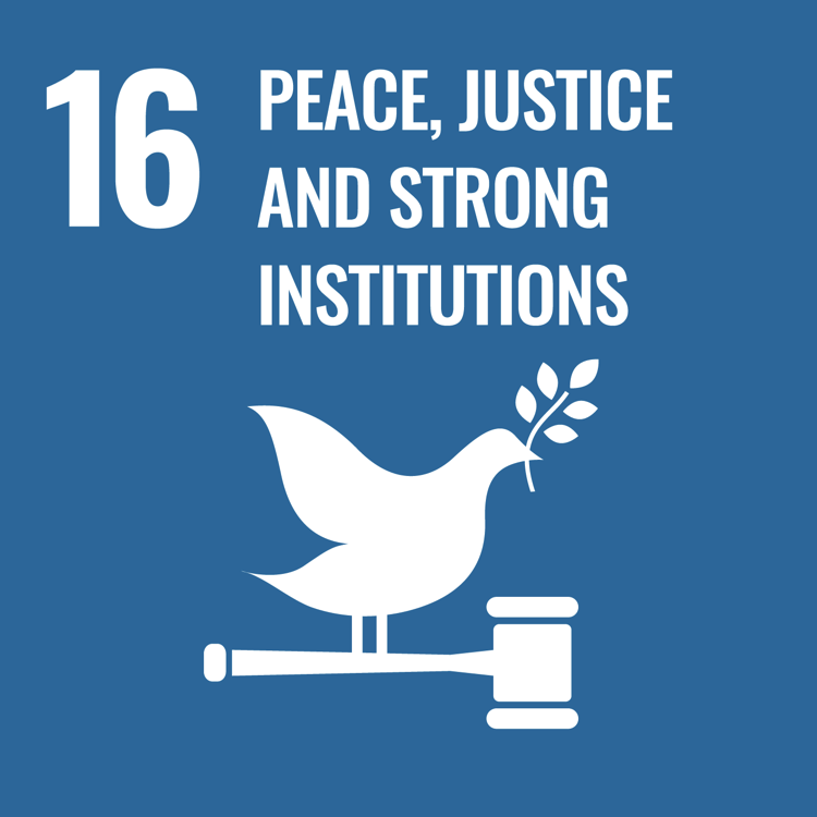Women and SDG 16: Promote peaceful and inclusive societies for sustainable development, provide access to justice for all and build effective, accountable and inclusive institutions at all levels