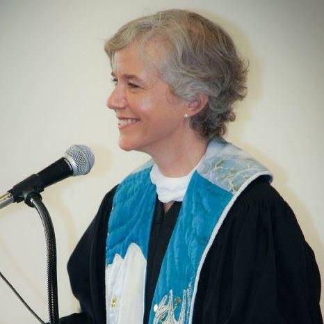 Rev Florence Caplow, Quimper UU minister, Port Townsend, WA