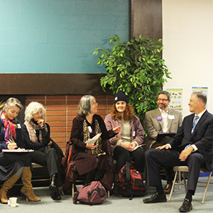 UW faculty meet with Governor Jay Inslee, Fall 2015