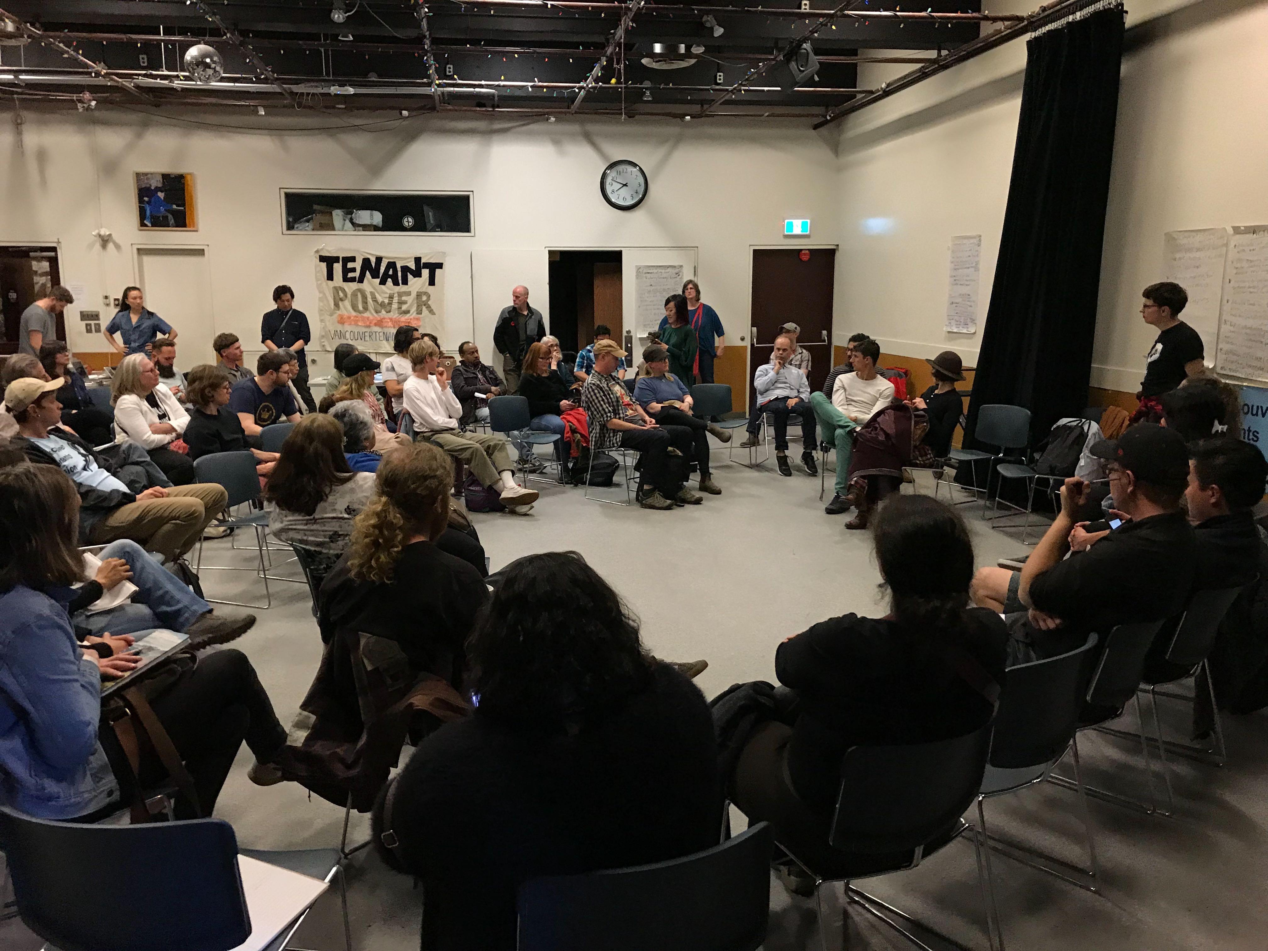 VTU General Meeting Discussion