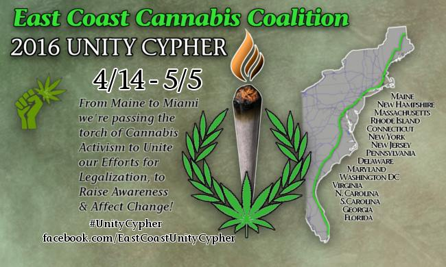 East Coast Cannabis Coalition Unity Cypher